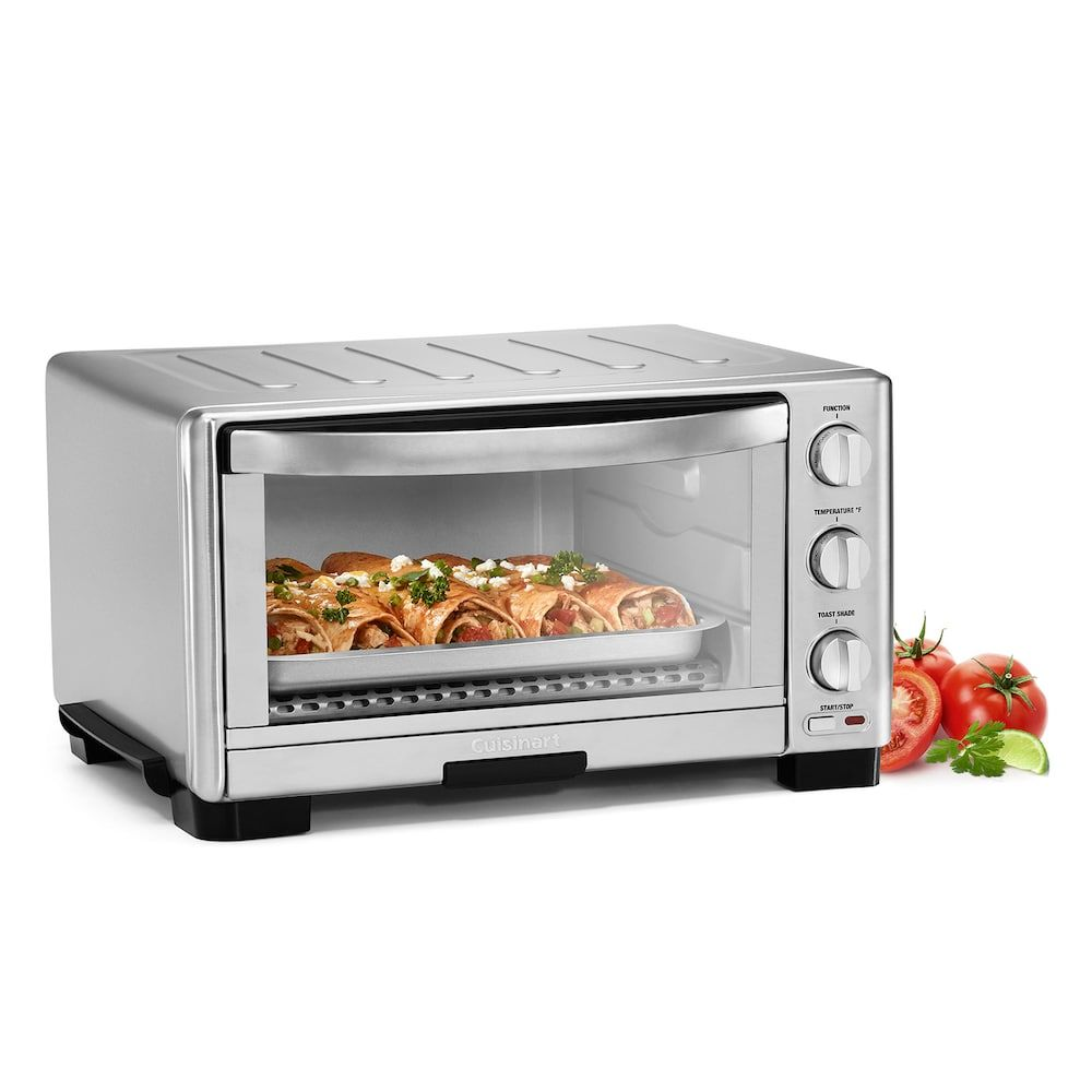 Cuisinart Toaster Oven Broiler Silver Toaster Oven 6 Slice