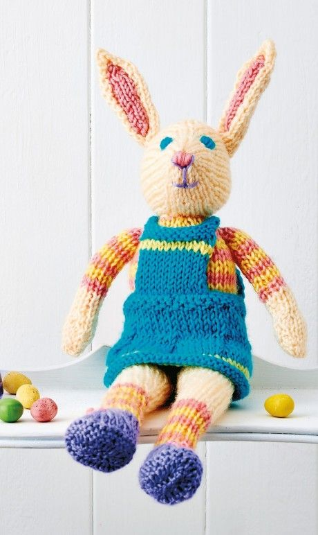 This easy-to-knit toy is long-limbed and fabulous, and is sure to be ...