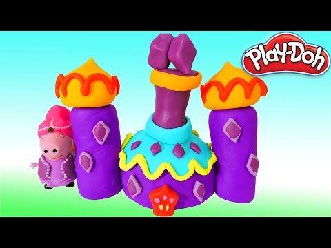 Peppa Pig Palácio Shimmer e Shine com Massinha de Modelar Play-Doh!