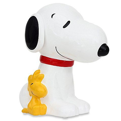 Peanuts Snoopy Piggy Bank Snoopy Peanuts Snoopy Coin Bank