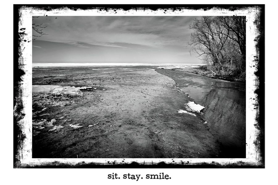 The mouth of Arcola Creek, Lake Erie OH Cool photos