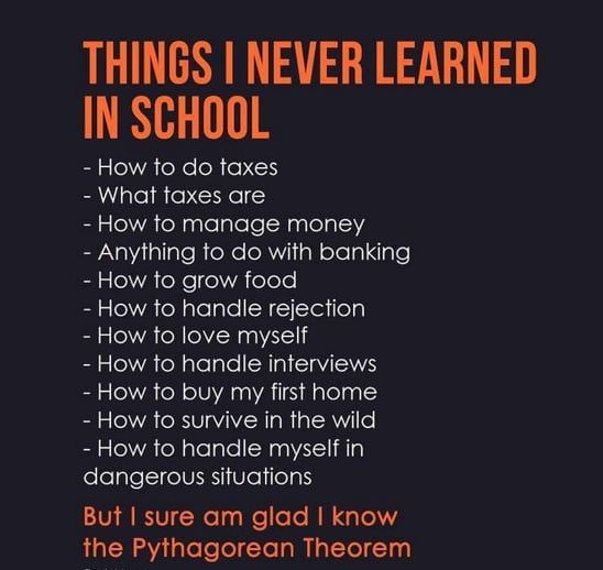 New Funny School Things i would like to learn in school Things i would like to learn in school - School Funny - School Funny meme - #school #funny #meme -  Things i would like to learn in school  The post Things i would like to learn in school appeared first on Gag Dad. 1
