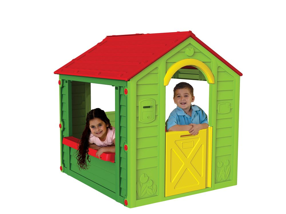 Keter Holiday Playhouse Suitable For Children Ages 2 And Up No