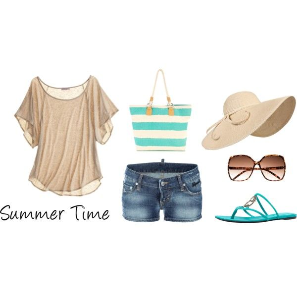 Summer Beauty, created by ashley-nicole-morrison on Polyvore