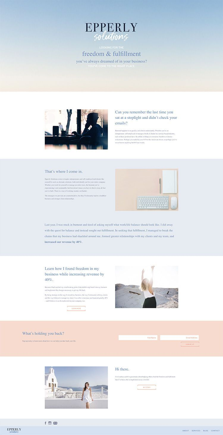 Web Design And Branding Portfolio Custom Web Design Website Layout Inspiration Website Design Inspiration