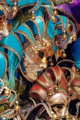 Venetian masks  #monogramsvacation