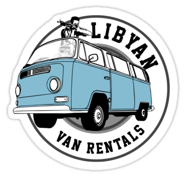 Libyans Van Rental funny Back to the future