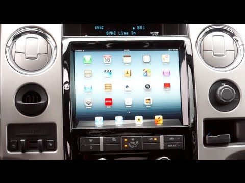The New Ipad 3 Lte Gets Down With Ford Sync Car Dash Soundmanca