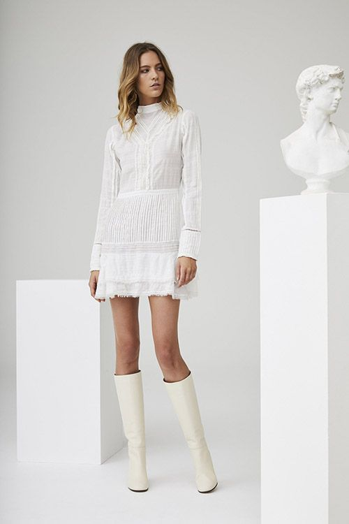 4597a1d22 Eyelet-Embroidered Shift Dress