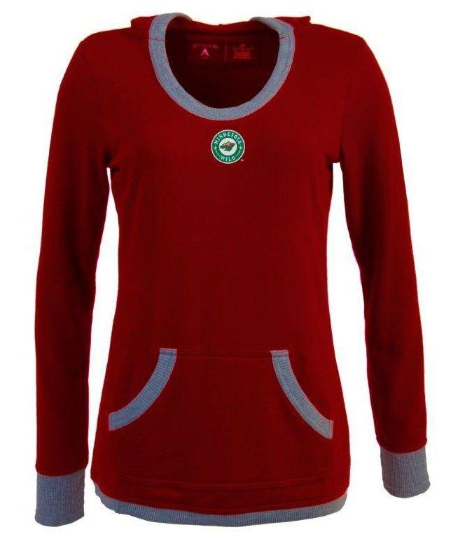Minnesota Wild Women s Vibe Hooded T-Shirt  0770a8f77e