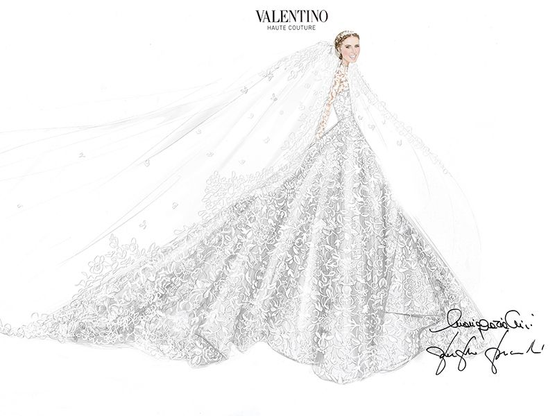 Nicky Hilton\'s Wedding Dress Has an Epic, 10-ft. Train (See the ...
