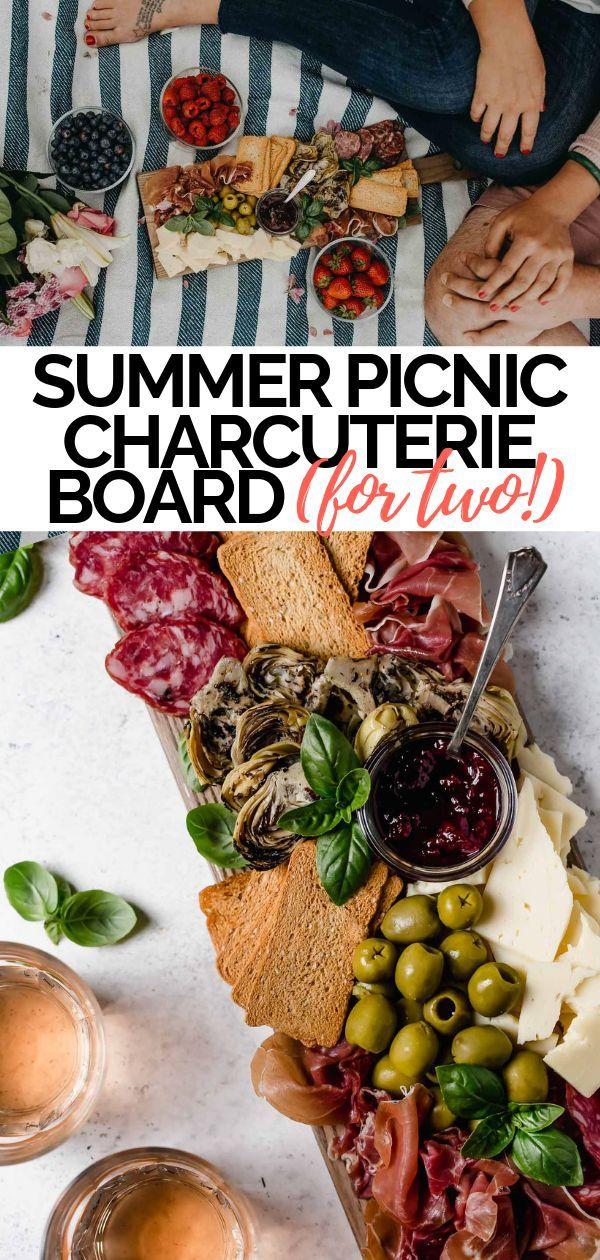 Summer picnic charcuterie board | Recipe | Romantic picnic ...