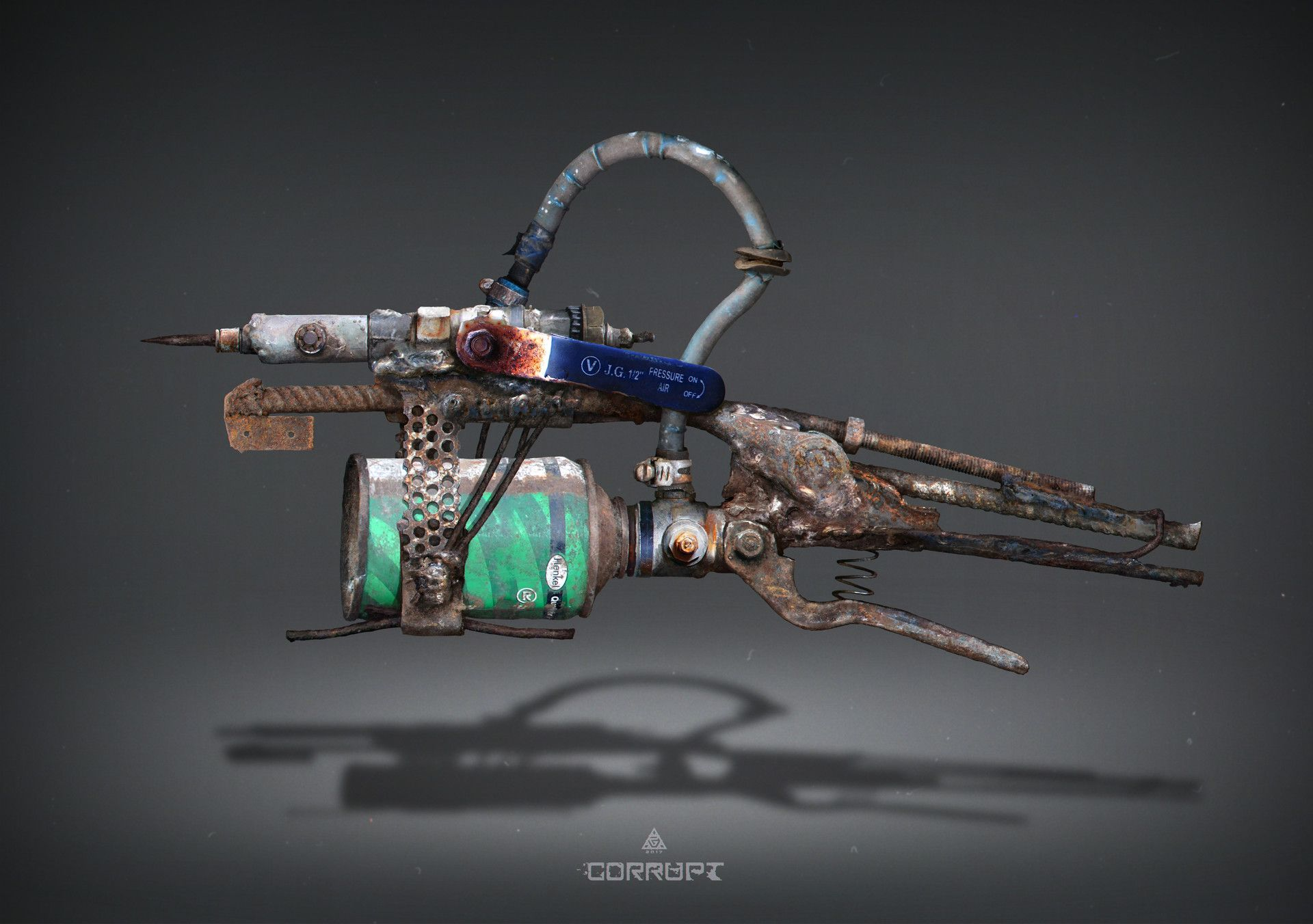 Pin On Gun Art