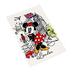 Minnie Mouse London Landmarks Tea Towel