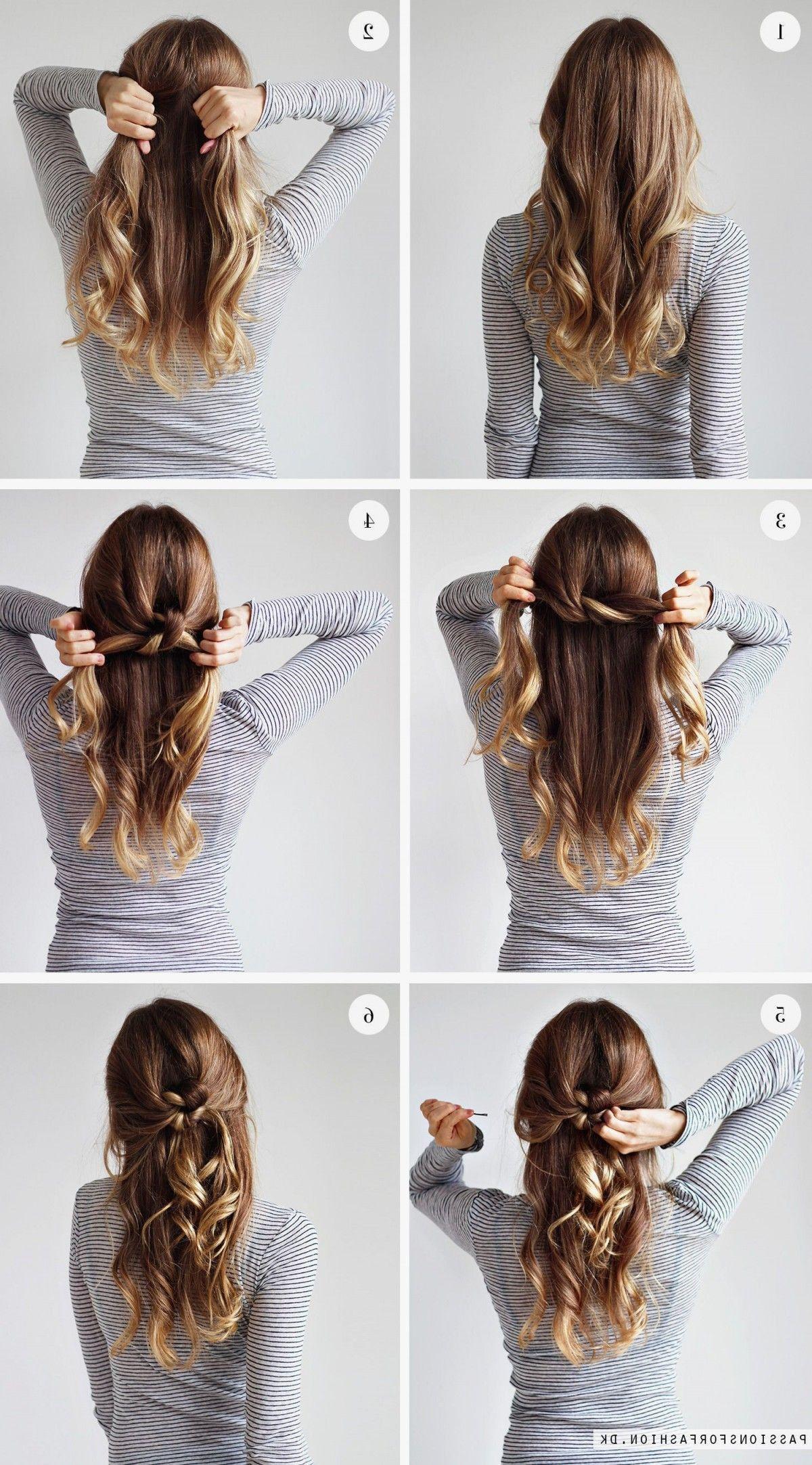 Frisuren lange haare offen anleitung