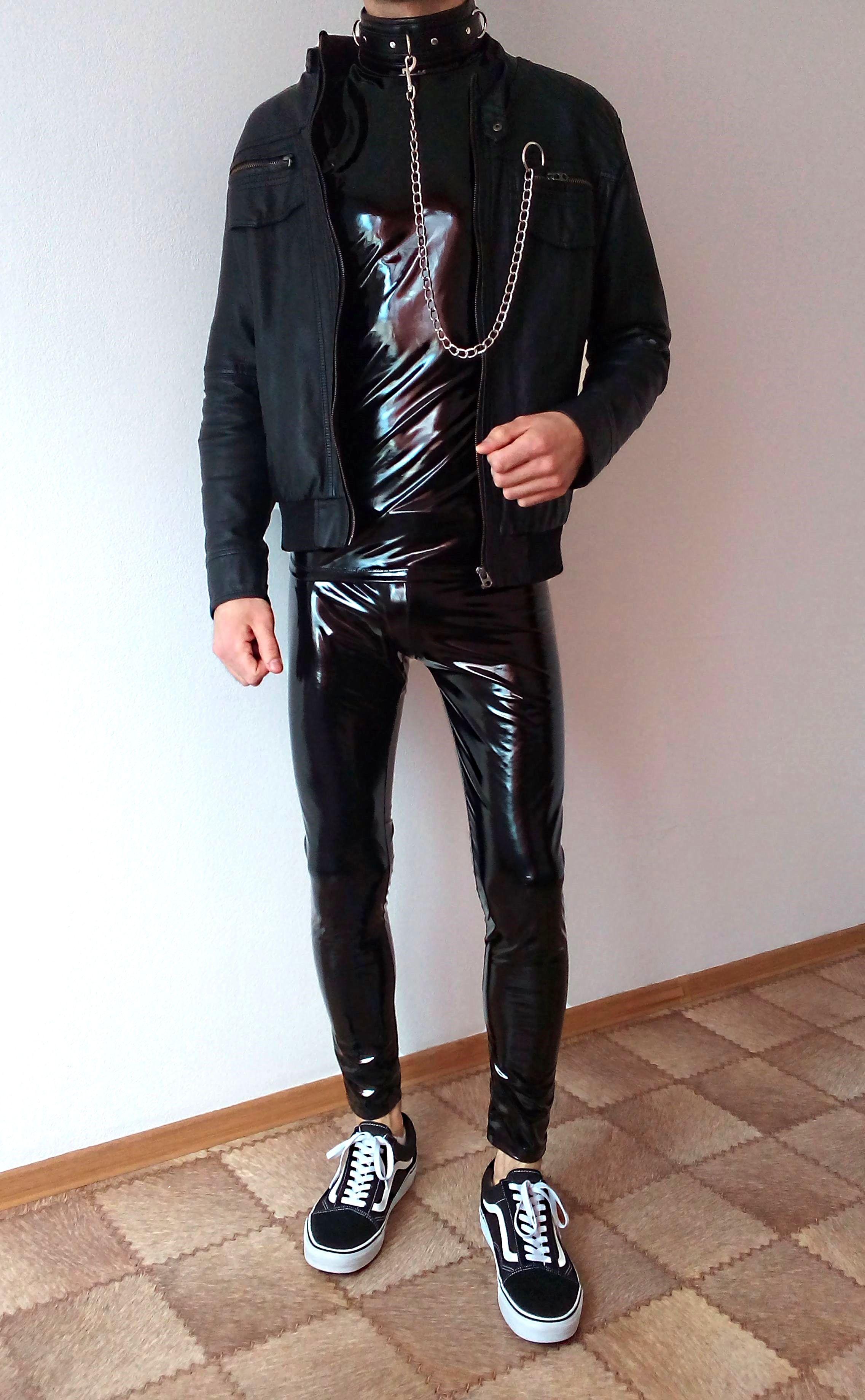 vans old skool black rock outfit   boys guys in leather