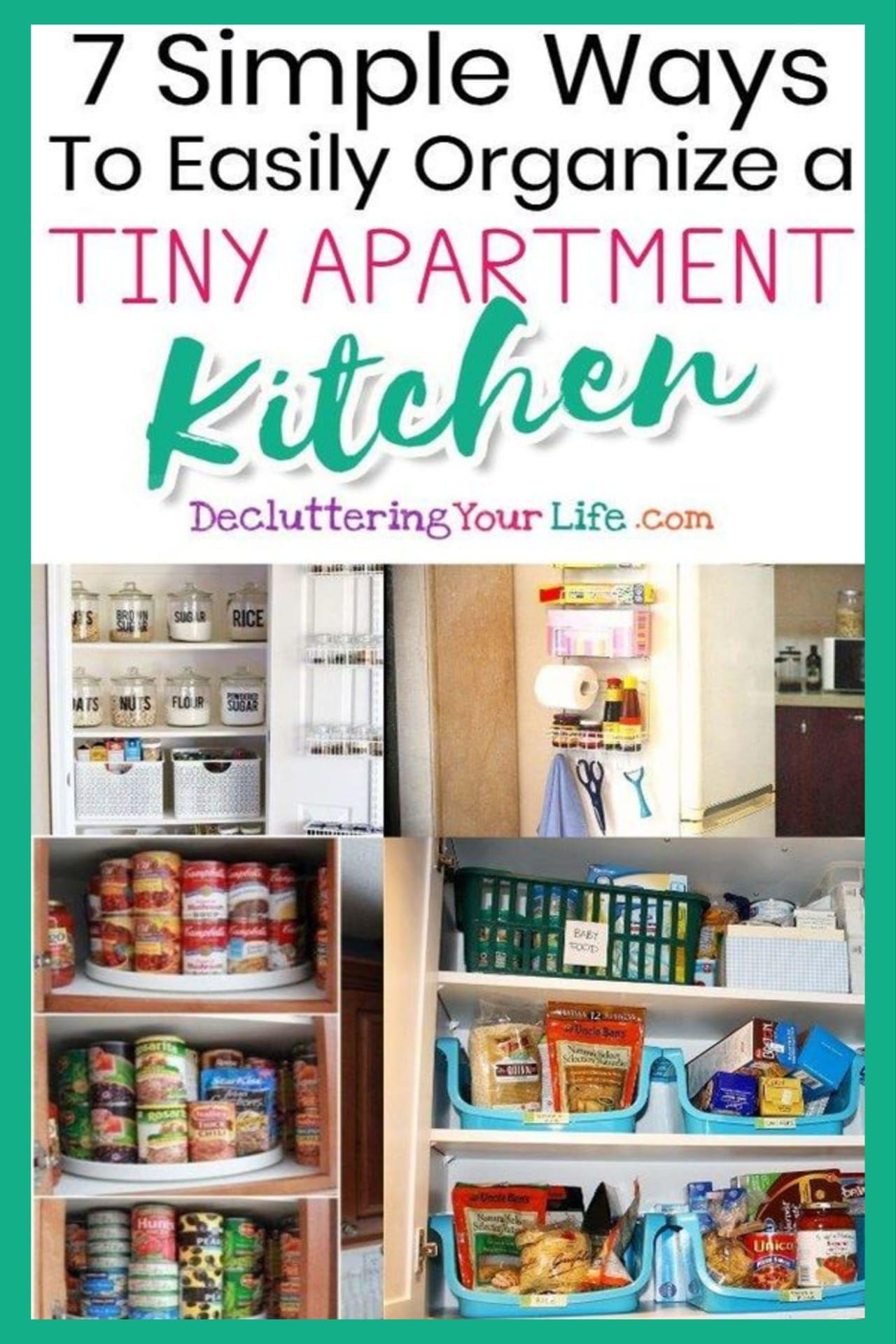 small apartment kitchen storage ideas that won t risk your deposit small apartment kitchen on kitchen organization small apartment id=68911