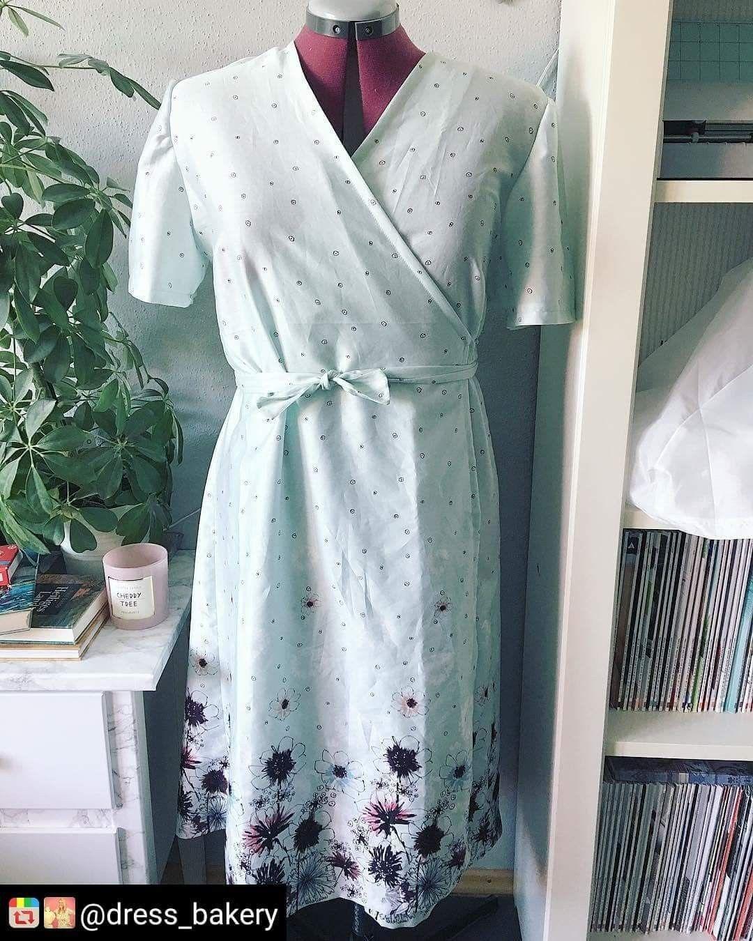 Wickelkleid sommer 2018