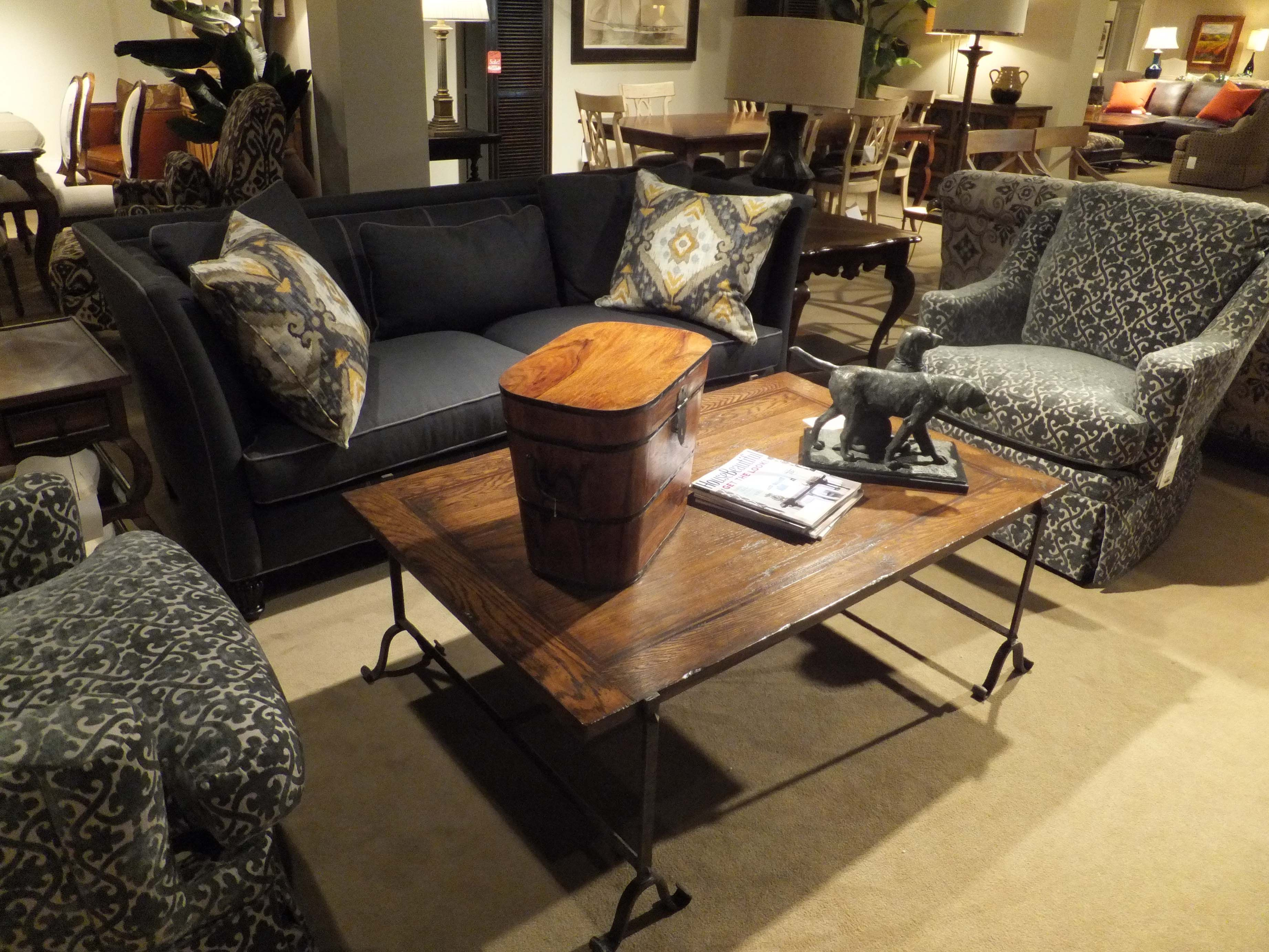 Best This Charcoal Grey Couch With Chairs Invites Conversations 400 x 300