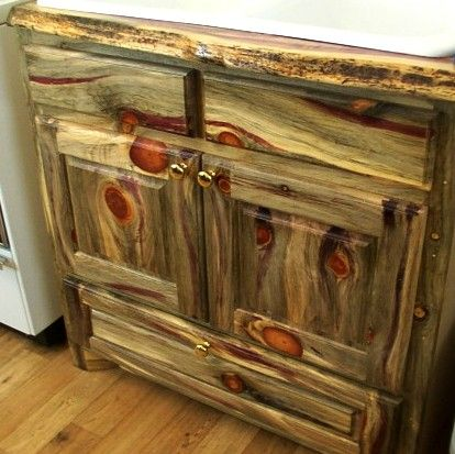 Merveilleux What A Unique Piece Of Furniture! Extra Colorful Beetle Kill Pine Cabinet  Made By Greenleaf Forestry