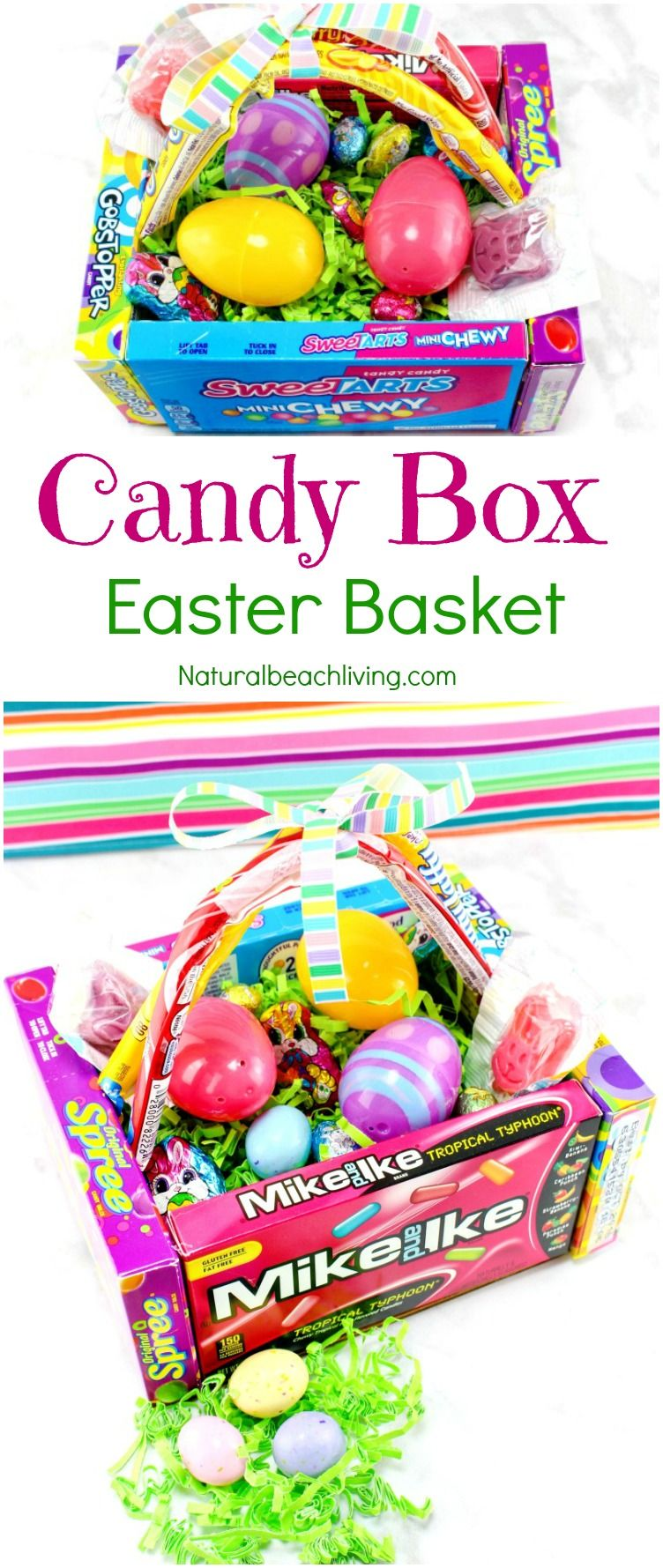 How to make the best diy candy box easter baskets candy boxes awesome diy candy box easter baskets diy edible easter egg basket that makes a cool gift perfect diy box frugal easter ideas teen gift ideas negle Gallery