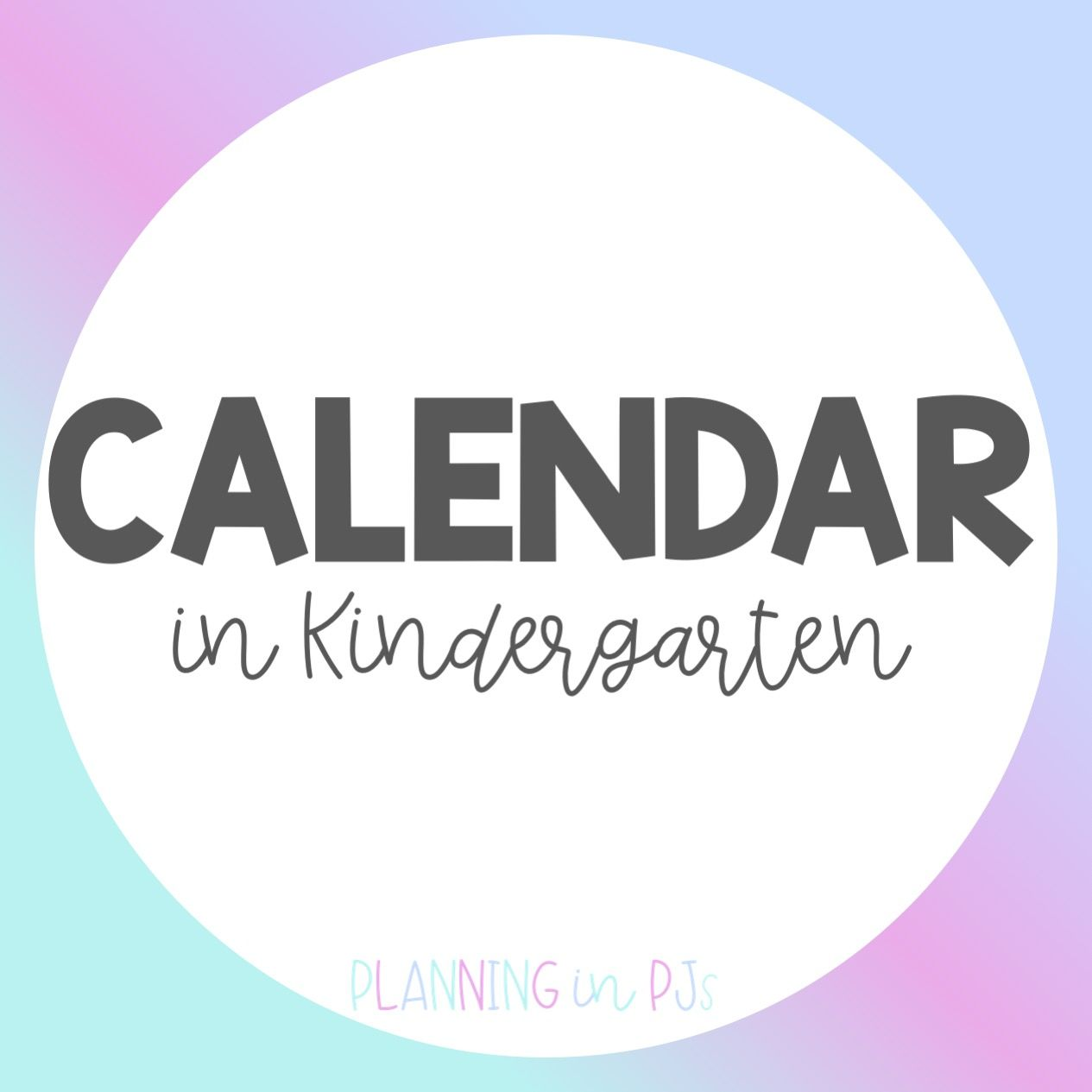 Calendar Activities For The Early Elementary Classroom