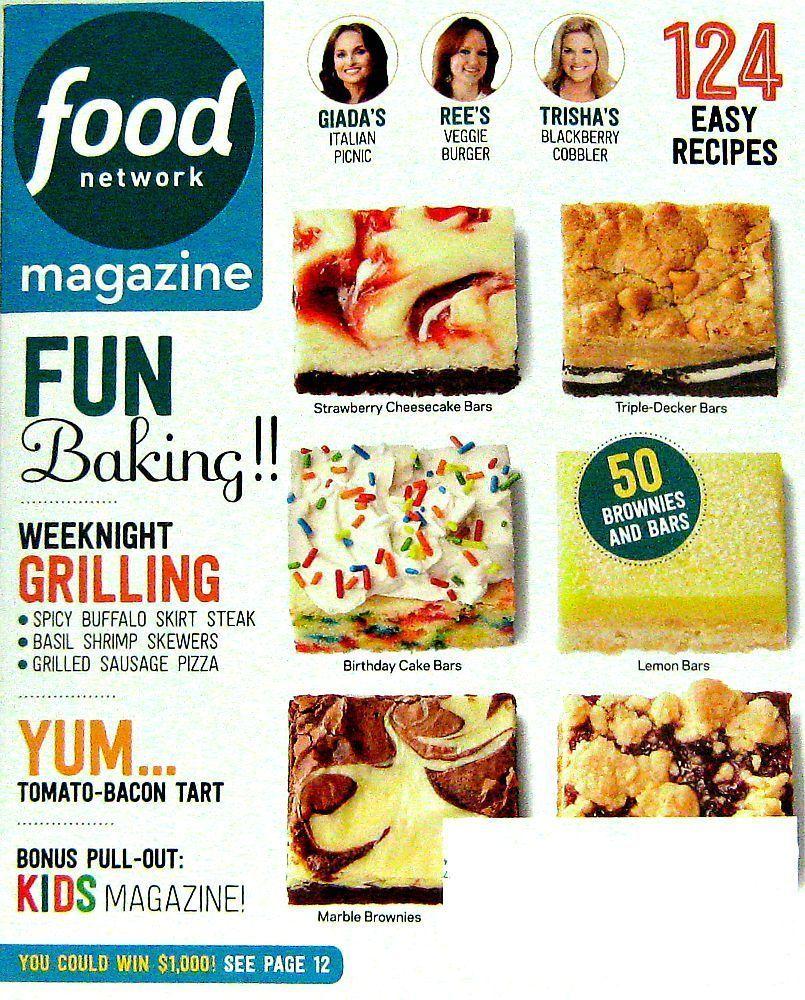 September 2015 Recipes >> Fun Baking Recipes Food Network Magazine September 2015 Volume 8