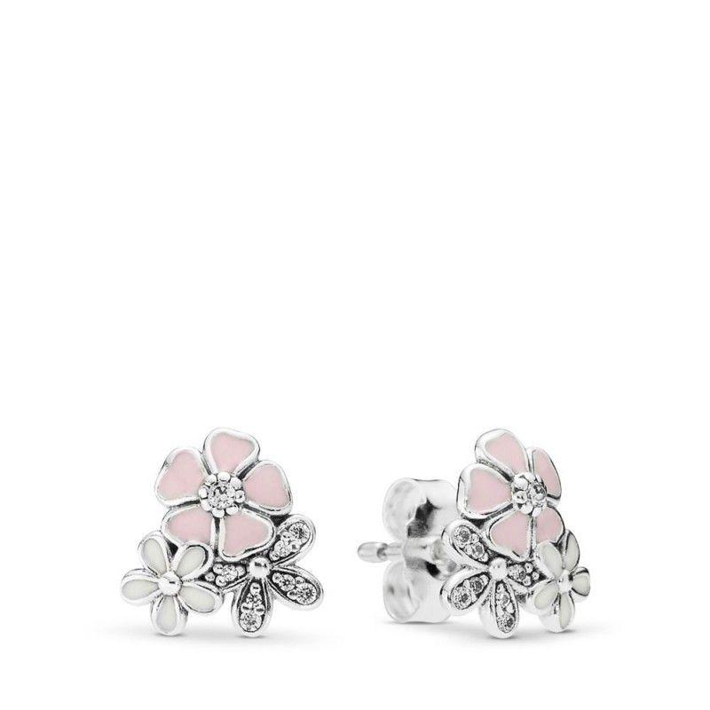 Pandora Starterset Gunstig Malerische Bluten Ohrstecker Pretty Outfit Ootd Girl Cute F Stud Earrings Flower Earrings Studs Sterling Silver Earrings Studs