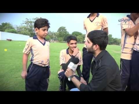 Pakistani Mustaqbil Ke Cricketers Ke Saath Ek Din. Interesting Day With ...