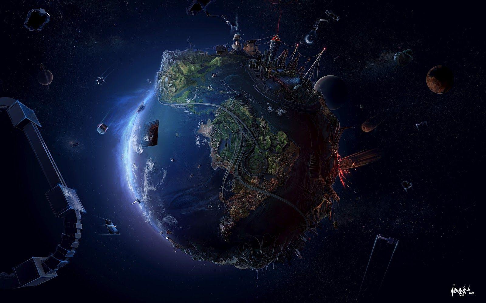 31 Wallpapers Hd De El Planeta Tierra Imagenes Fondos De