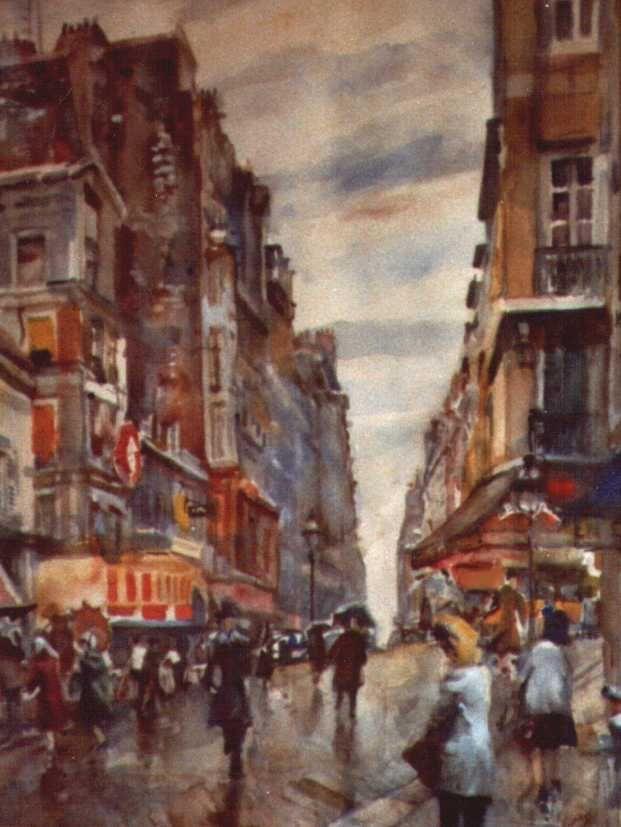 Monmartre Parijs.