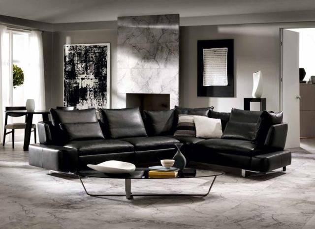 Sectional Sofa - Diagonal | Italian modern furniture from Natuzzi ...