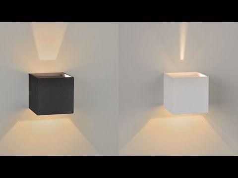 LED Wandleuchte s.LUCE Ixa mit verstellbaren Lichtklappen