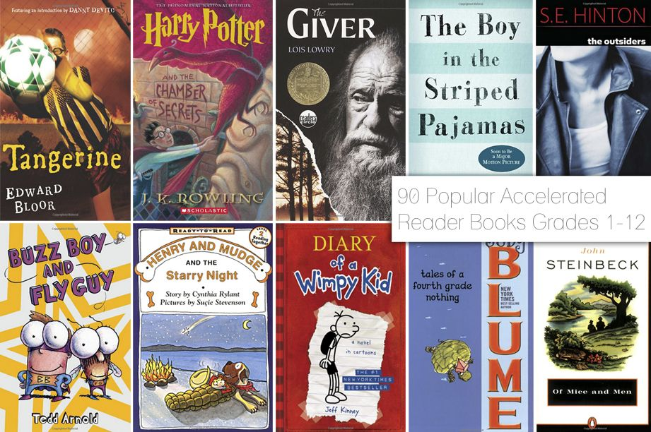90 Popular Accelerated Reader Books For Grades 1 12 Fancy Shanty