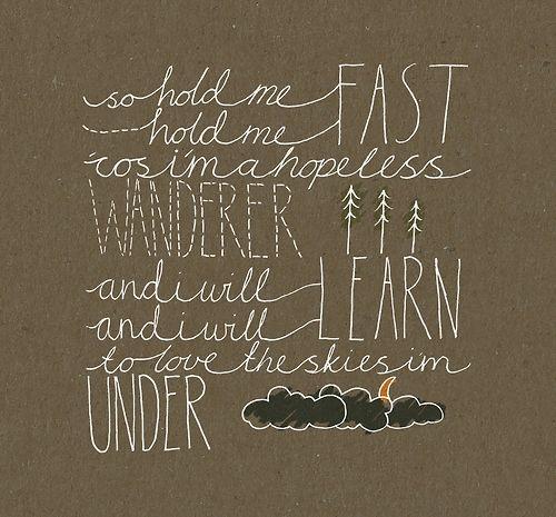 Mumford And Sons - Hopeless Wanderer Lyrics