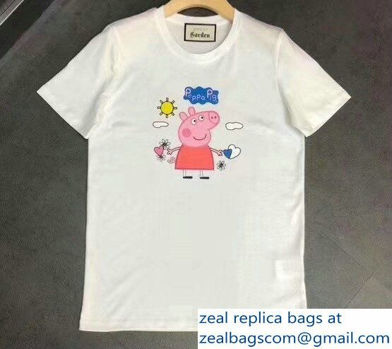 0d99d98b Gucci T-Shirt Peppa Pig 03 2018 | Luxury Clothes | T shirt, Shirts ...