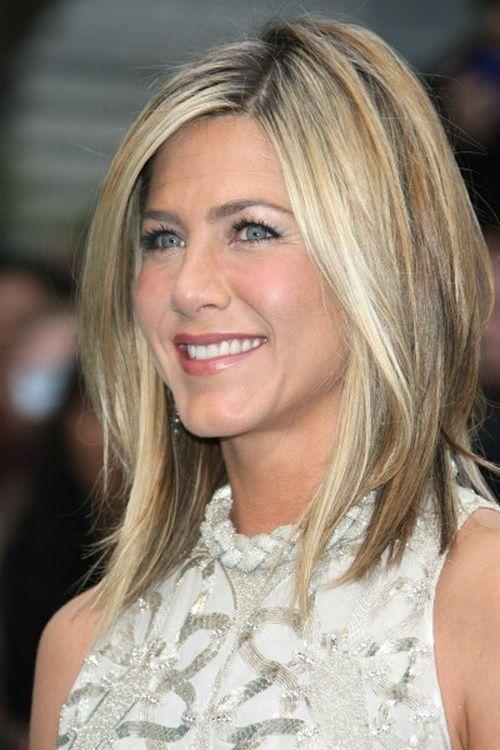 Stupendous Jennifer Aniston Long Bob Long Bob Hairstyles And Long Bobs On Hairstyle Inspiration Daily Dogsangcom