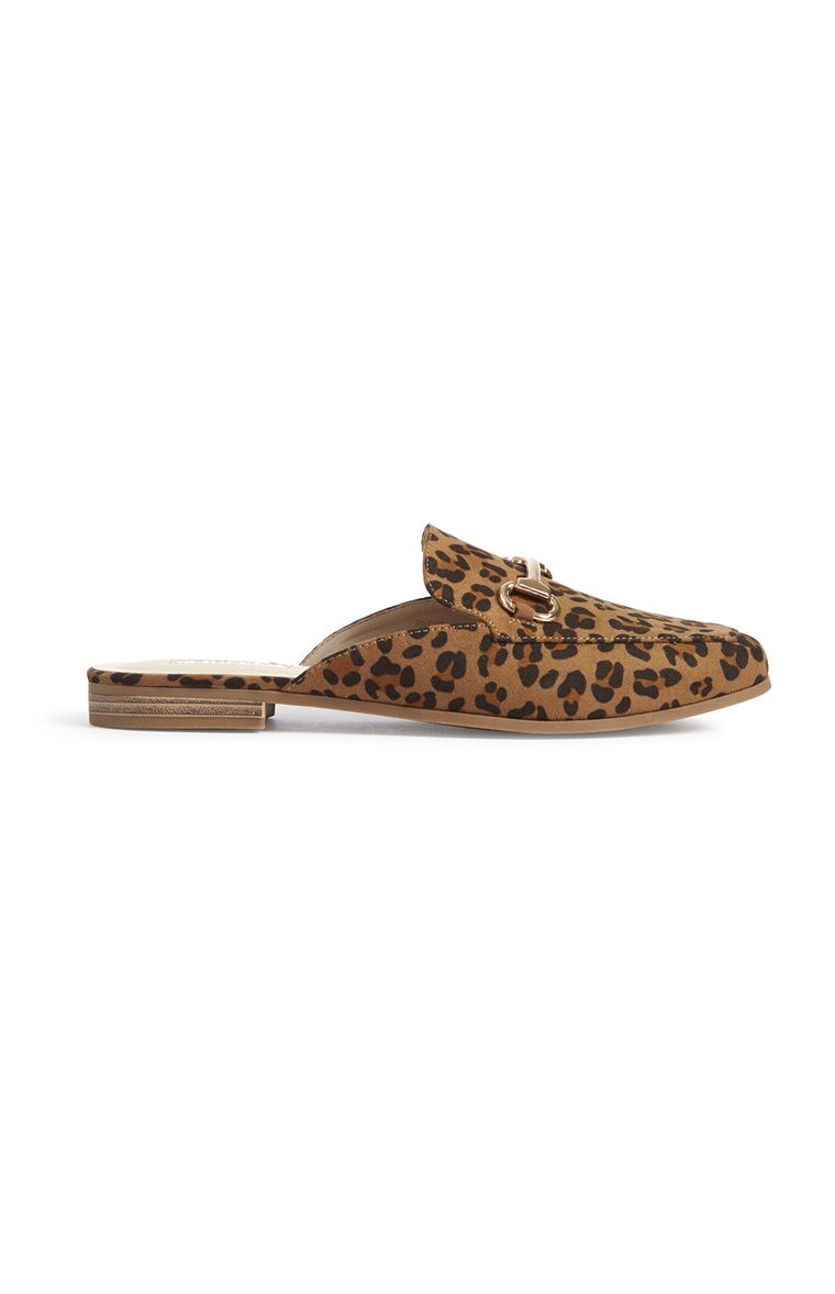reasonable price vast selection best sale Leopard Print Loafer Mule | Leopard print loafers, Leopard loafers ...