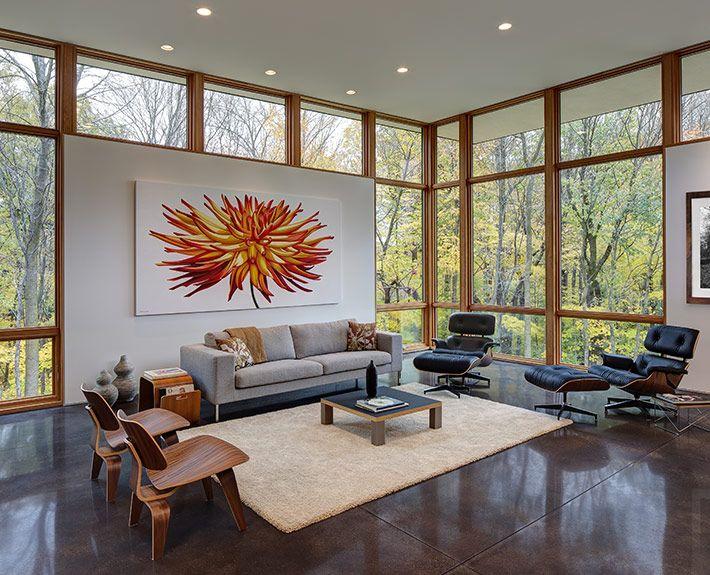 Wie Wäre Es Mit Dem Lange Ersehnten Eames Lounge Chair? Oder. Wohnzimmer ... Photo Gallery