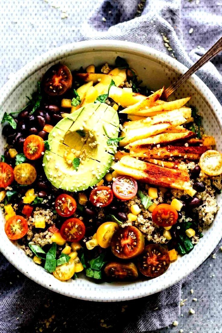 Chili Mango Zesty Quinoa Salad - Jar Of Lemons -