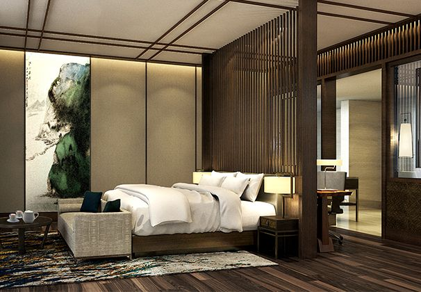 Project Hilton Fengxian 2 606x420 Bedroom LayoutsBedroom DesignsHotel GuestHotel
