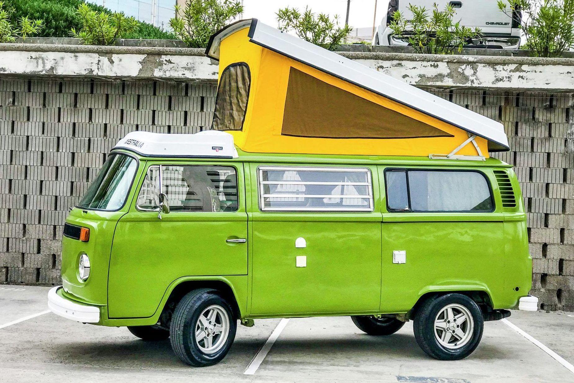 1976 Volkswagen Bus Westfalia Volkswagen bus, Volkswagen