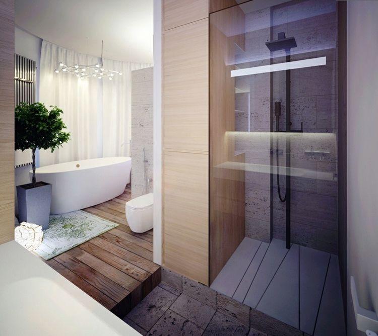 Modernes SPA Badezimmer DesignIdeen und Badezimmer Modern