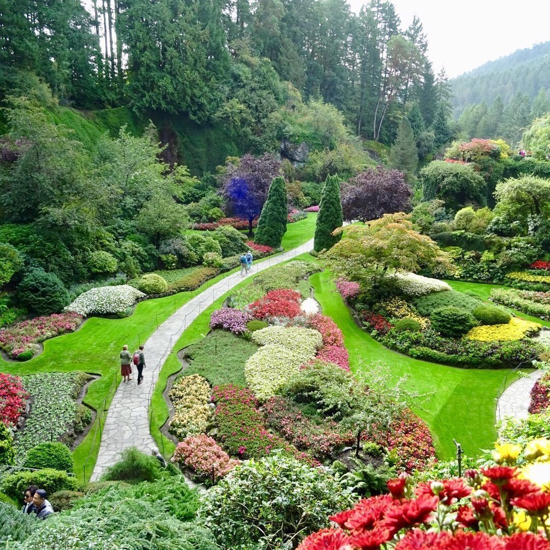 Where Is The Butchart Gardens Located