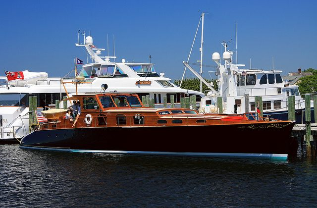 Aphrodite Another Very Nice Wooden Boat Mahogany Boat Wooden