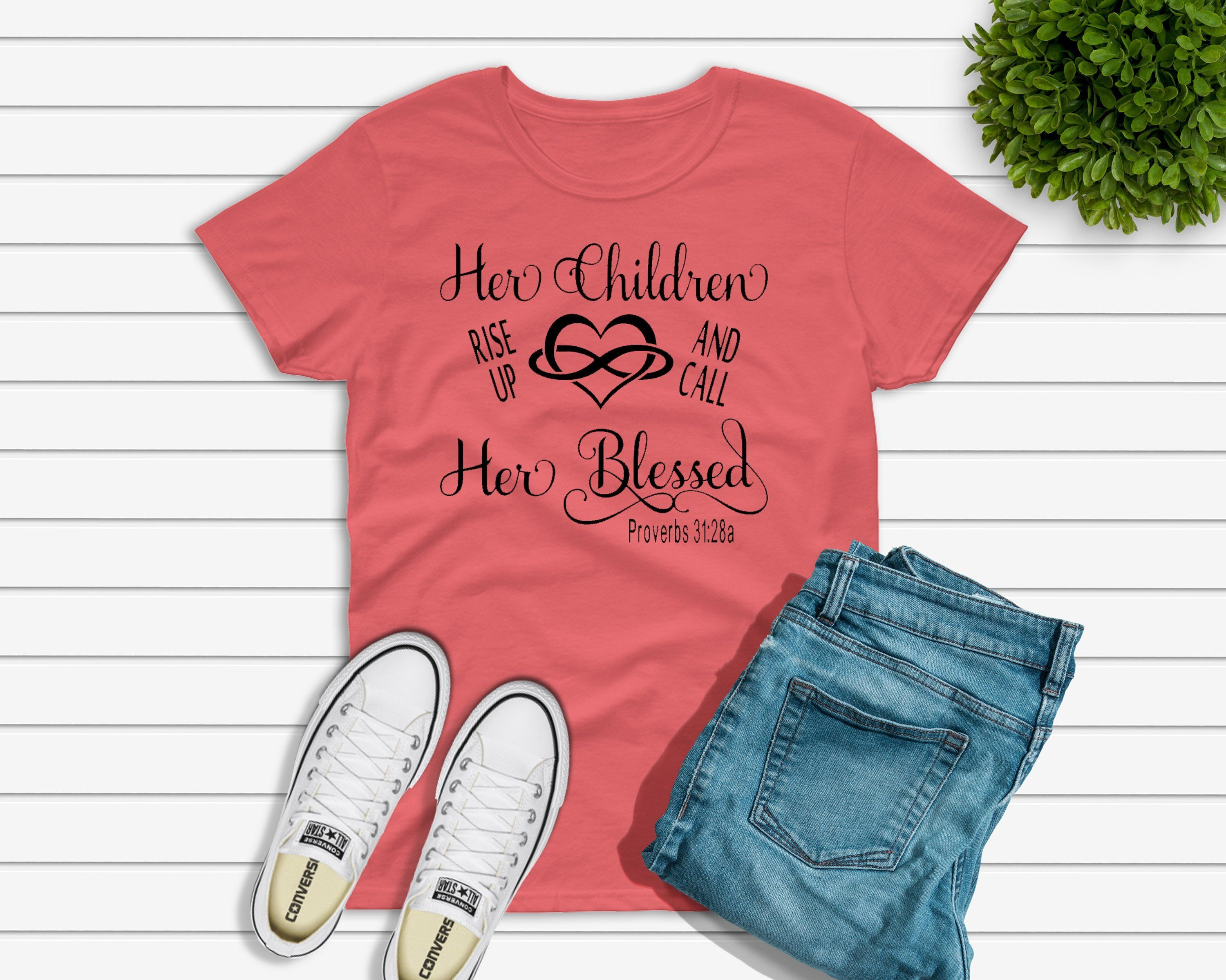 fc386d60 Rise and call her Blessed, Mothers Day Unisex Tshirt, Trendy Tee, mother tee