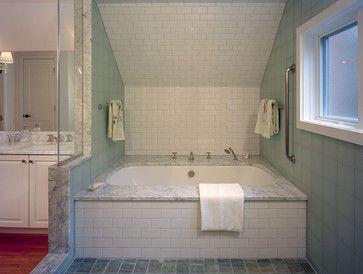 Sloped Wall Bathroom Sloped Ceiling Bath Design Ideas