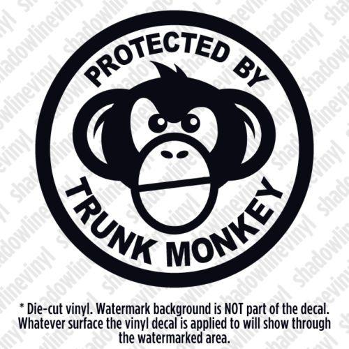 Animal Monkeys Funny Decal Sticker Car Cute Vinyl got monkey