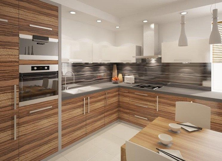 High Gloss Kitchen Cabinet Design Ideas Designs Home Decoration Classy How To Design Kitchen Cabinets Layout Decorating Design