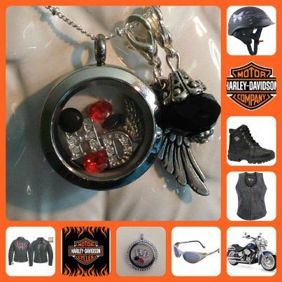 Harley Davidson Harley Davidson Jewelry Origami Owl Harley Davison